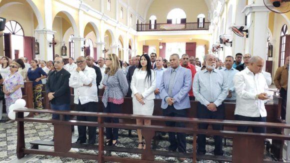 PRSC en misa en Santiago