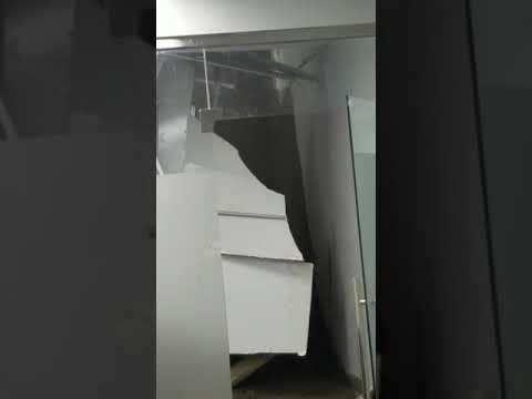 desploma techo del área de quirófanos