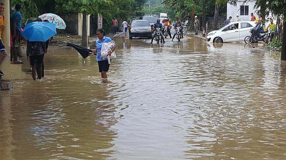 ONAMET informa continuarán las lluvias para este miércoles