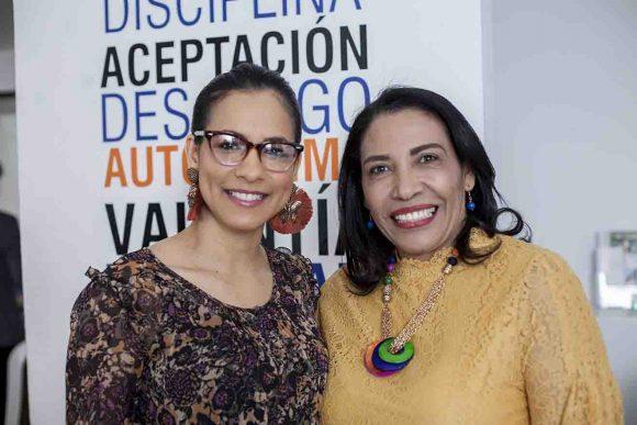 Haydeé Domínguez y Lidia Soriano
