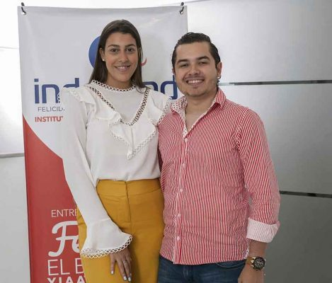 Juliette Villalona y Ricardo Lazala