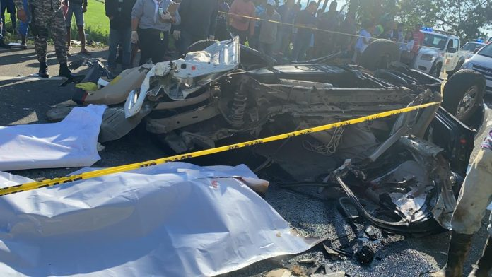 Otro accidente en Bonao deja 5 muertos