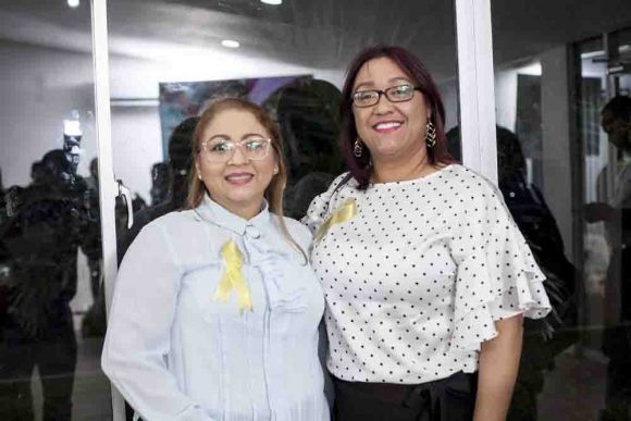 Gladialisa Pereyra y Verónica Reynoso