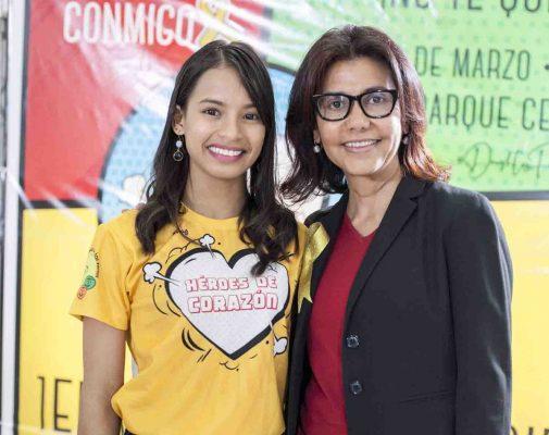 Raquelina Luna y Solangel Núñez