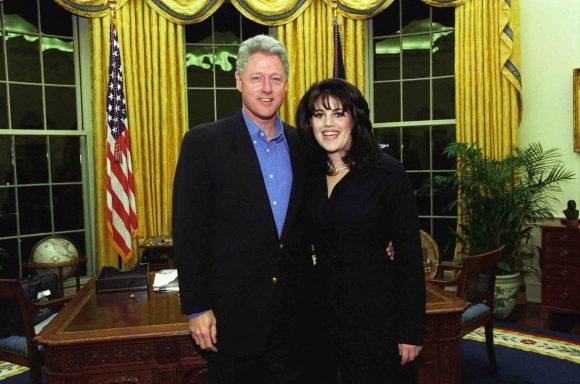 Clinton con Monica Lewinsky