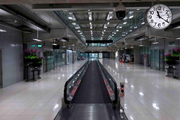 aeropuerto vacío eeuu coronavirus
