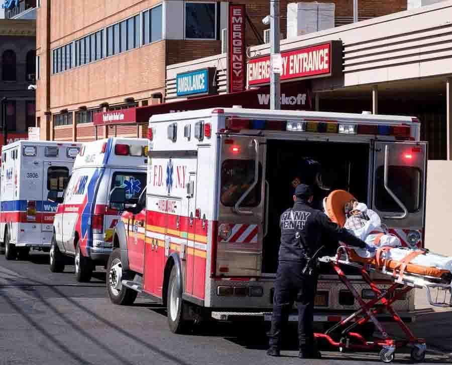 coronavirus cadáveres hospitales NYC