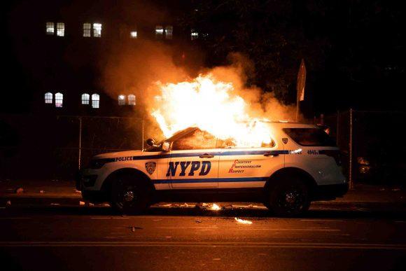 protestas violenta eeuu