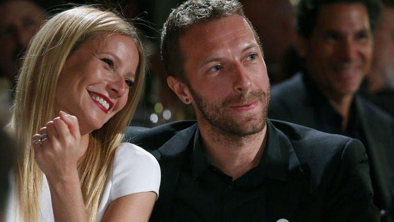 Gwyneth Paltrow con Chris Martin