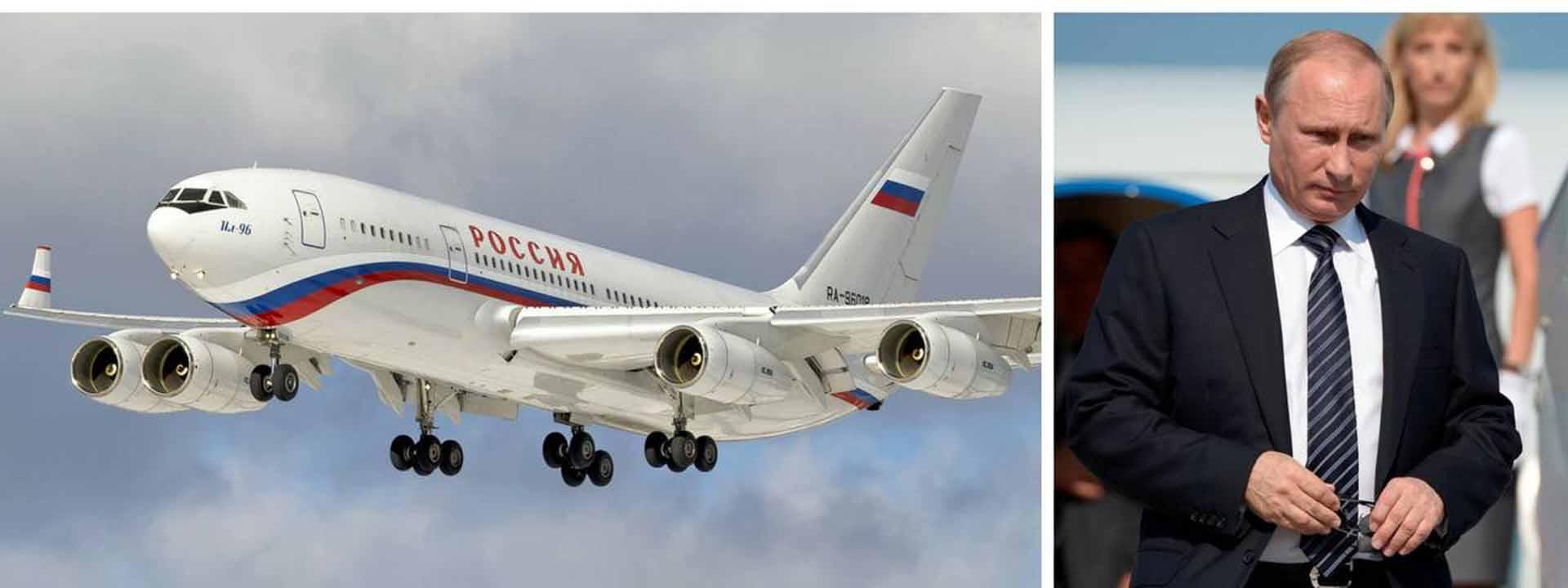 Putin su avion