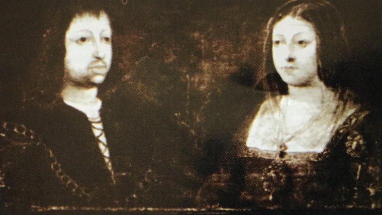 Cristóbal Colón y los reyes
