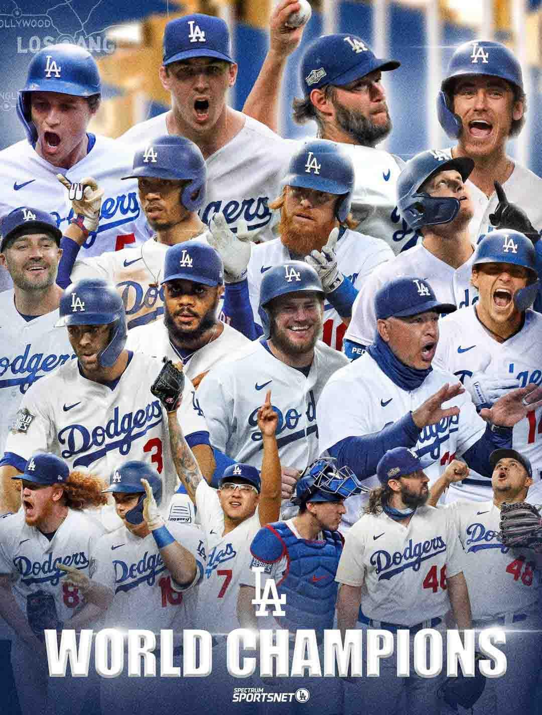 Dodgers conquista Serie Mundial1