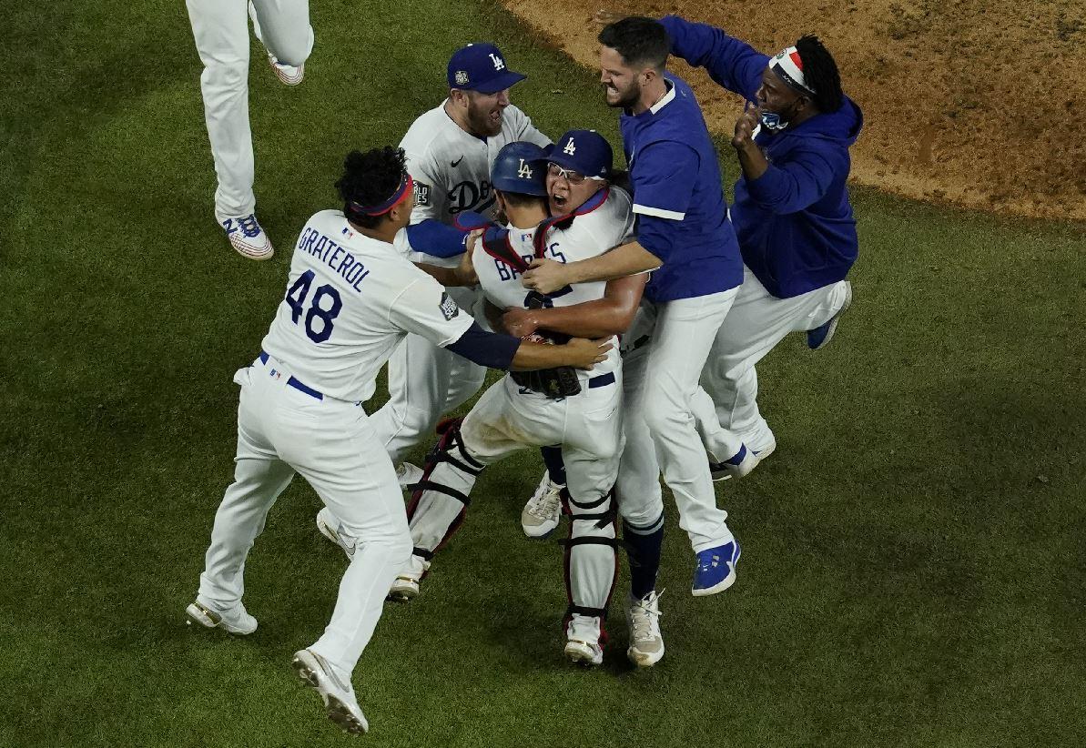 Dodgers conquista Serie Mundial2