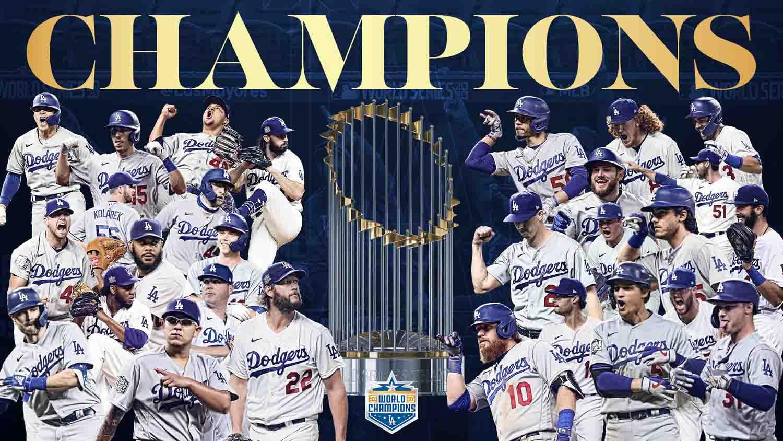 Dodgers conquista Serie Mundial3