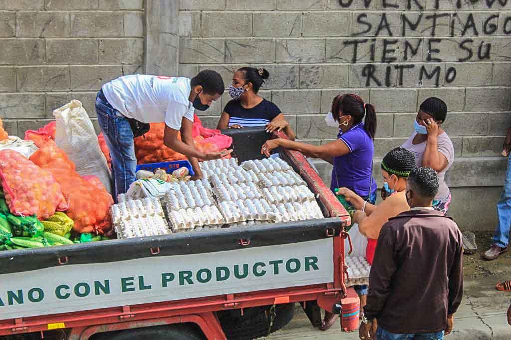 INESPRE llegan a Santiago con ventas populares