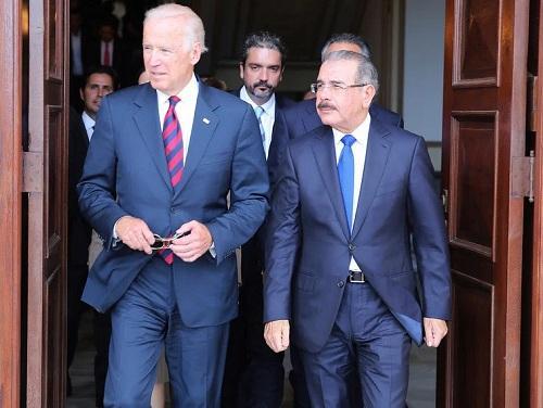 Joe Biden y Danilo