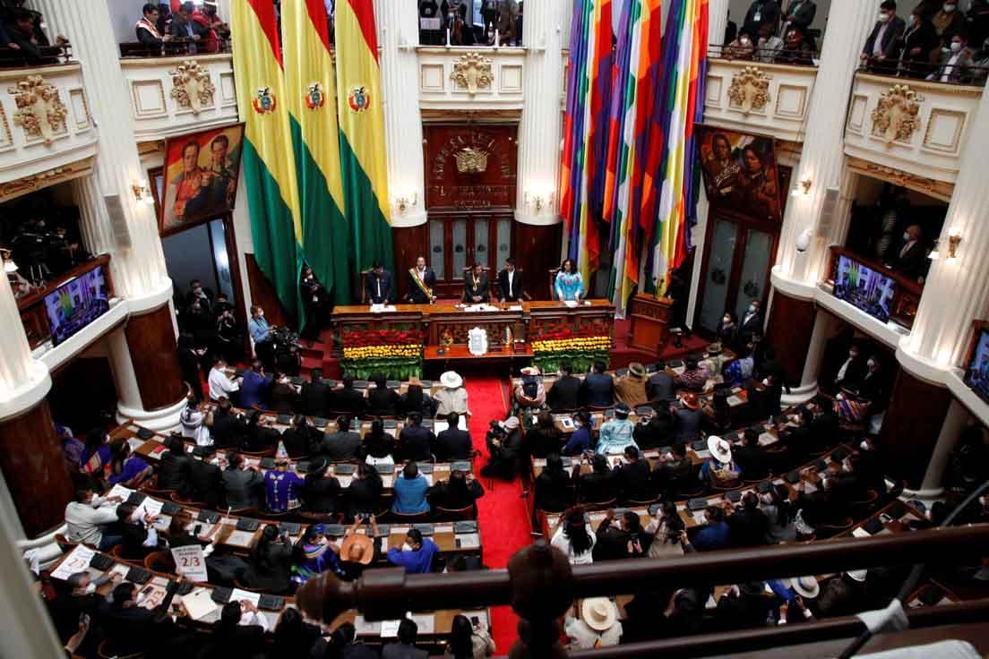 Luis Arce asume la Presidencia de Bolivia1