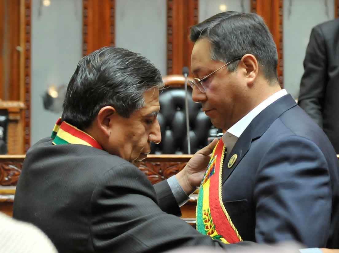 Luis Arce asume la Presidencia de Bolivia2
