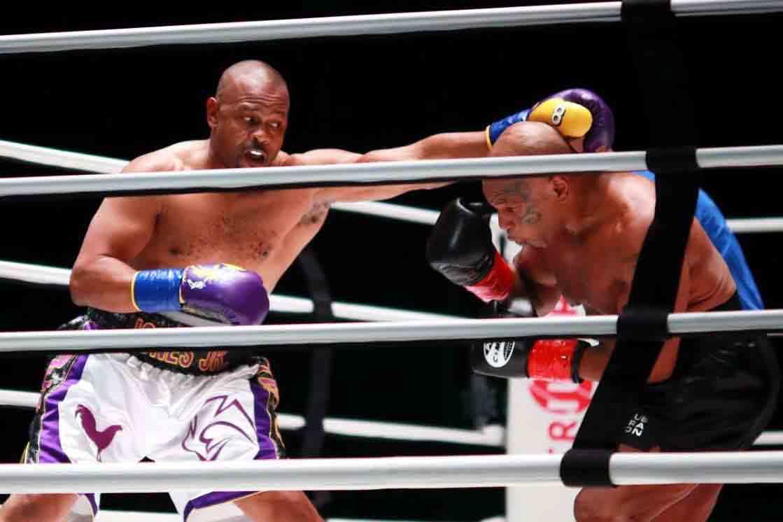 Mike Tyson al ring luego de 15 años fue un