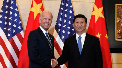China felicitó a Joe Biden por su victoria presidencial