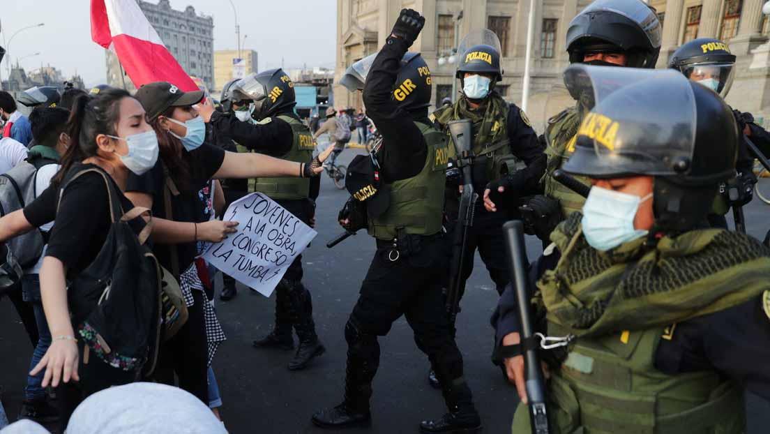 violencia policial en Perú1