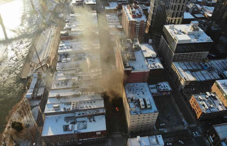 explosion en el centro de Nashville large