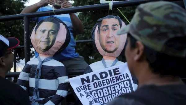 Juan Orlando Hernandez y su hermano Juan Antonio Tony Hernandez