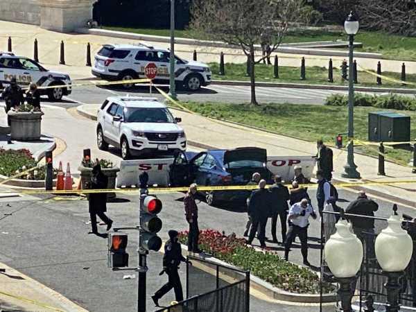 policia murio tras el ataque con un vehiculo en el Capitolio de EE. UU.