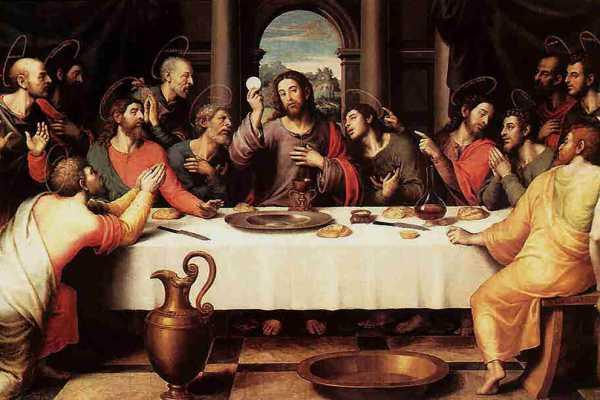 ultima cena de jesus