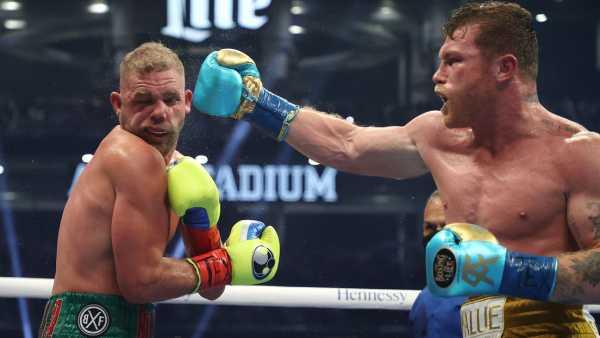 El brutal golpe con el que Canelo Álvarez le rompió el pómulo a Saunders