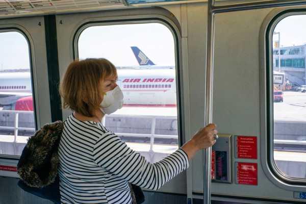 mascarillas en todo el transporte publico hasta septiembre eeuu