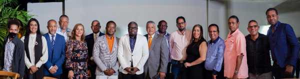 Consulado Haitiano celebra encuentro con periodistas y comunicadores de Santiago