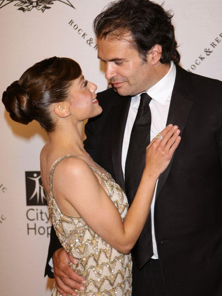 Brittany Murphy y su esposo Simon Monjack
