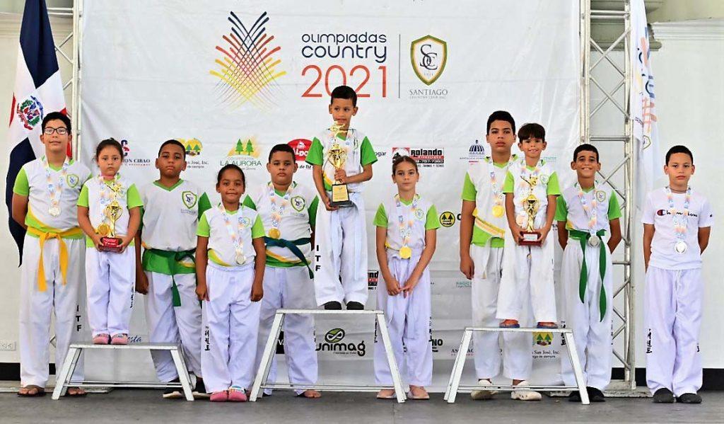 taekwondo olimpiadas country